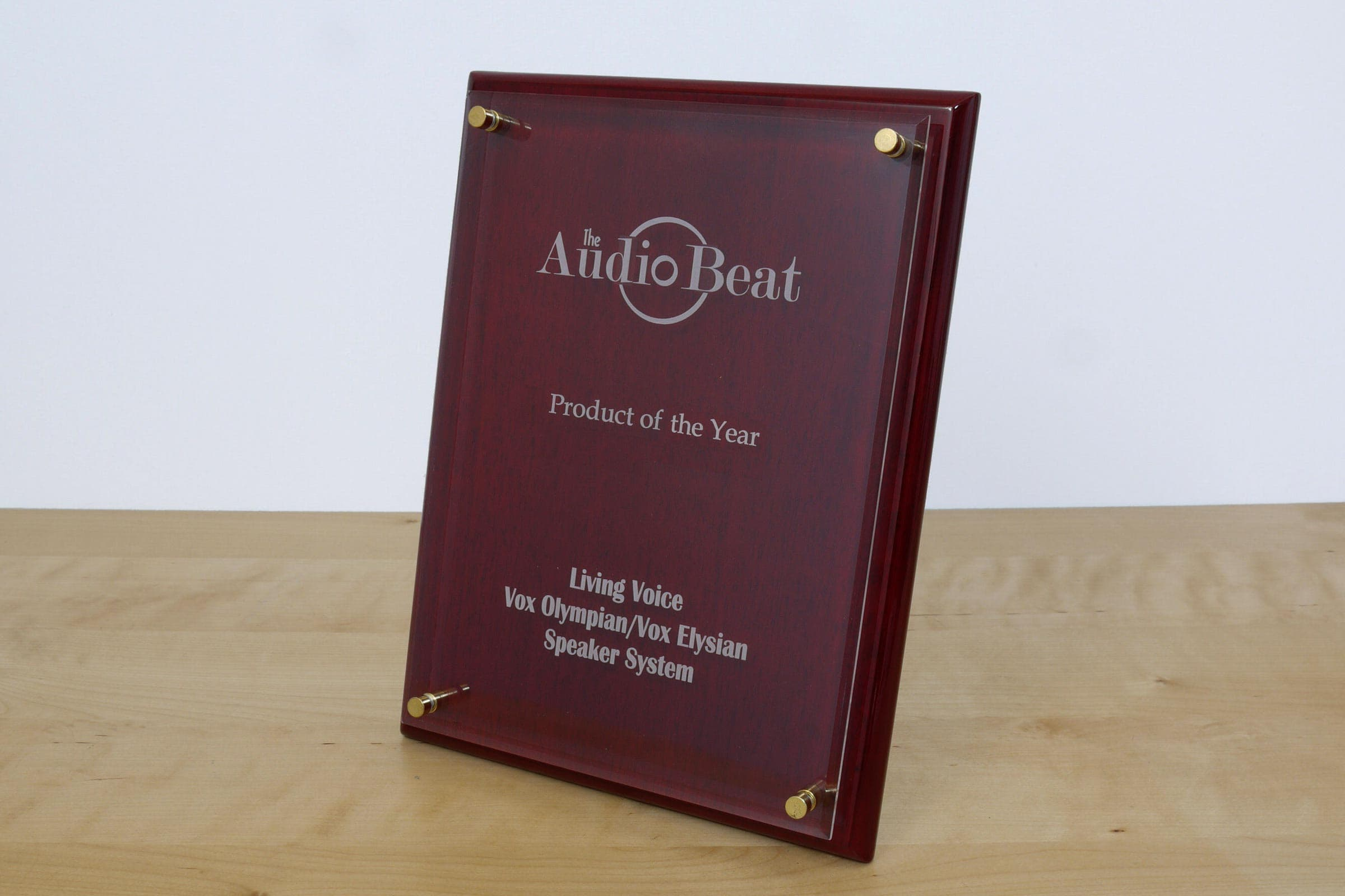 AudioBeat product of the year award for Vox Olympian & Vox Elysian system
